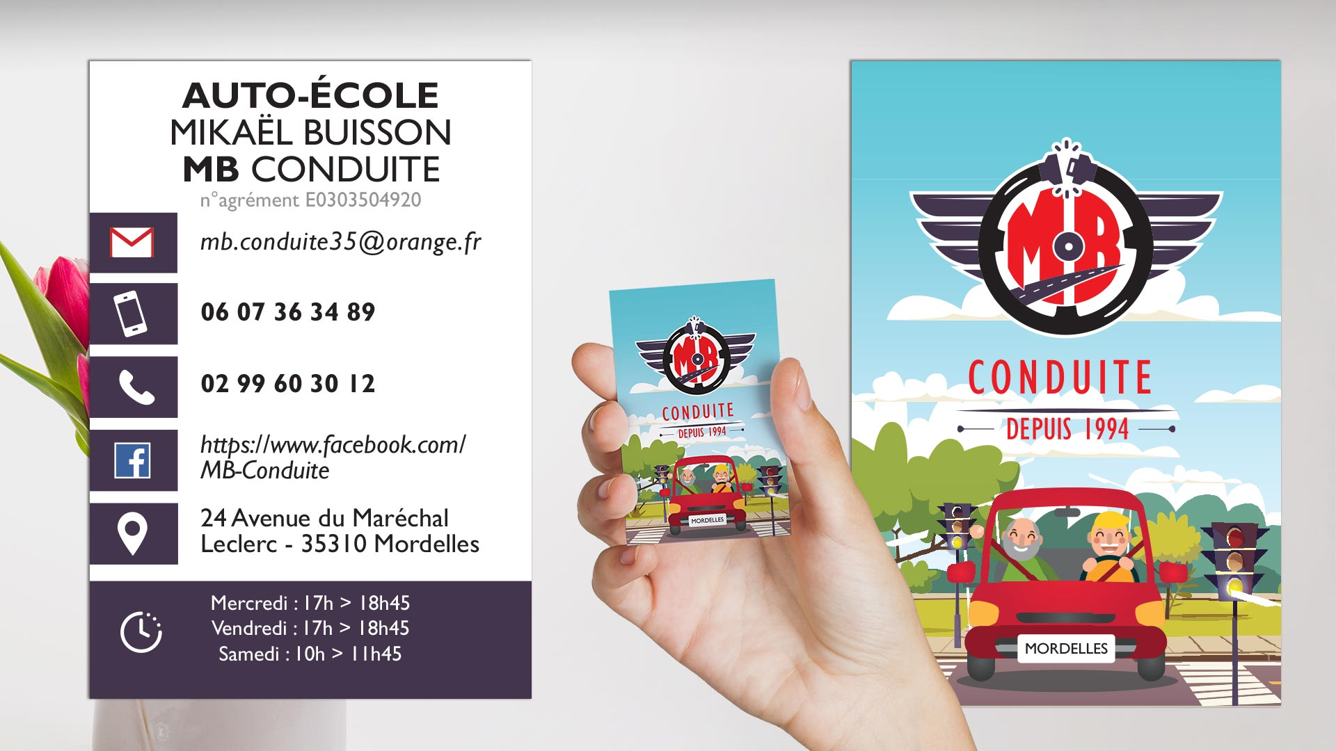 Carte De Visite MB Conduite